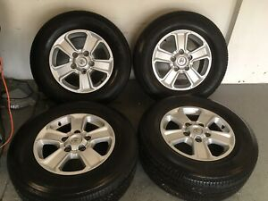 2014 2018 Toyota Tundra 18 Factory Oem Wheels Rims 75156 Set Of 4 With Tires