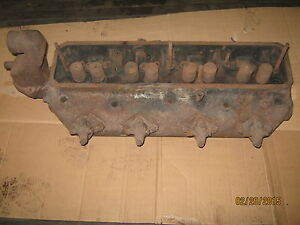 Farmall Md 8228 de Diesel Cylinder Head With Injectors free Shipping