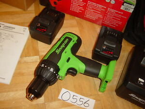 Snap On Tools New 18 Volt 1 2 Monster Lithium Compact Cordless Drill Kit Green
