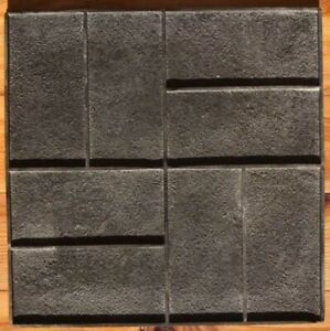 Concrete Texture Stamp Mat Rubber For Printing On Cement Parquet