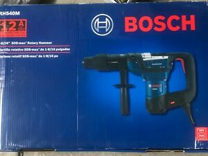 Brand New Bosch 12amp 1 9 16 In Corded Variable Speed Sds max Hammer Drill