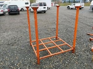 Heavy Duty Stack Rack 53 X 47 X 5 Posts Metal Stacking Pallet