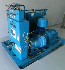 50 Hp Quincy Rotary Screw Air Compressor Model Q235 200 Cfm Psi 125