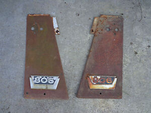 Farmall 806 Lp Front Radiator Panels