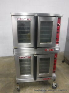 Blodgett Mark V 111 Electric Double Stack Full Size Convection Oven 1 Phase