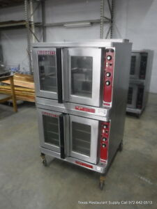 Blodgett Mark V iii Electric Double Stack Full Size Convection Oven