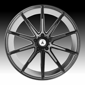 4 New 22 Staggered Rims Wheels For 2010 2011 2012 Ls Lt Rs Ss Zl1 Camaro 5685