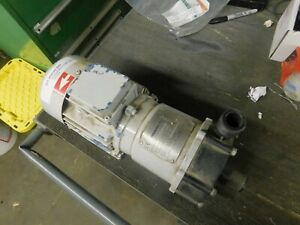 Iwaki Md 100 Rm Magnetic Drive Pump 3 Phase Motor