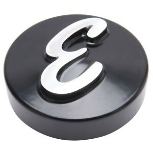 Edelbrock 4271 Air Cleaner Nut Knurled Round Black Anodized Automotive Parts