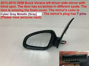 2012 2016 Buick Verano Left Side Mirror With Blind Spot 71