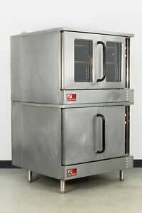Used Southbend Slgs 22sc Double Deck Gas Convection Oven Full Size