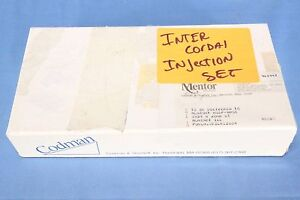 Inter Cordal Injection Set Injection Needle Set With Warranty