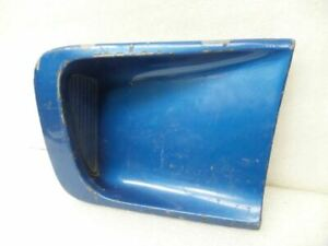 Right Passenger Side Scoop Vent Plate Vintage Fits 1969 Mustang Mach 1 19629