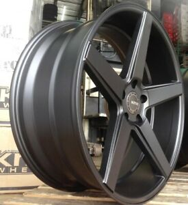 4 New 20 Staggered Rims Wheels For 2010 2011 2012 Ls Lt Rs Ss Zl1 Camaro 5687
