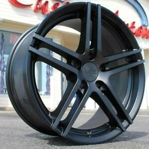 4 New 20 Staggered Rims Wheels For 2010 2011 2012 Ls Lt Rs Ss Zl1 Camaro 5688