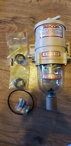 Racor 500fg Fuel water Separator With 12 Volt Heater Option Nos