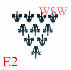 10x Grille Clip For 1988 1997 Toyota Hilux Ln85 Ln106 Surf 4runner Hiace Tacoma