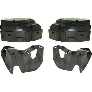 Bumper Retainer For 2007 2013 Gmc Sierra 1500 Set Of 4 Front Left And Right