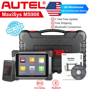 Maxisys Ms908 Auto Scan Tool Diagnostic Scanner Obd2 Code Reader Ecu Programming