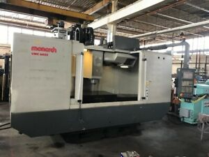 2006 Monarch Cnc 6032 Vmc Vertical Machining Center Under Power Video Ct50
