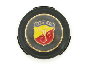 Fiat 600 Abarth Black Horn Button New Defective