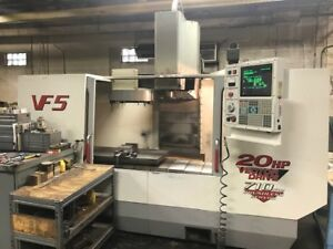 1998 Haas Vf 5 40 Cnc Vertical Machining Center Nice Vmc Michigan Video