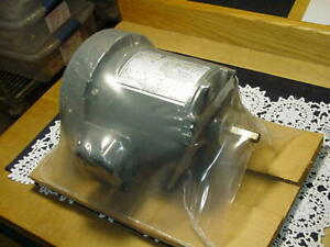 Ge Model 5kh32en66x Ac Motor H117 1 6 Hp 1725 Rpm Split Phase 115v 60hz