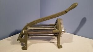 Alegacy Commercial Grade Cast Iron French Fry Cutter