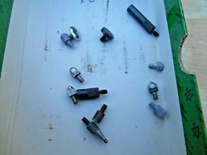 Starrett And Others Dial Indicator Contact Point Lot Of 12