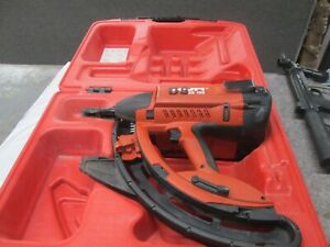 Hilti Gx100 Gas Actuated Automatic Fastening Nail Gun Kit W Hard Case