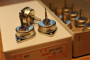 1pc 2sk182es 2sk77 2sk180 thf 51s tokin Hi power Hi voltage V fet Nos Original