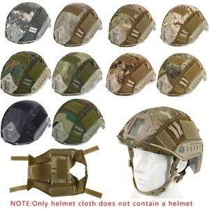 1x Sports Airsoft Paintball Tactical Military Gear Combat Fast Helmet Cover Tool