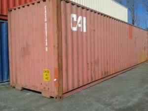 Pre owned Shipping Storage Containers 40ft Newark Nj 2050