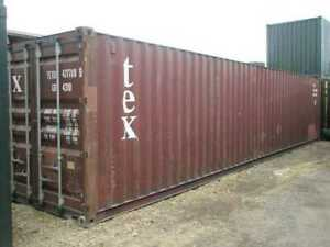 Pre owned Shipping Storage Containers 40ft Charleston Sc 2100
