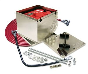 Taylor Cable 48201 Aluminum Battery Box Relocation Kit 3 Pc 11 25x9 5x8 75