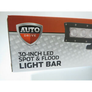 Auto Drive 30 Led Spot And Flood Light Bar