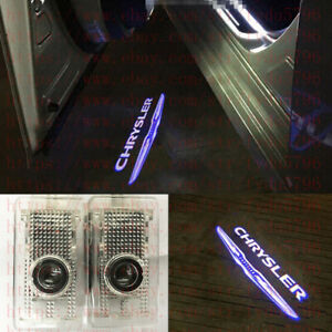 Led Light Door Projector Welcome Logo Emblem Hd Kit For Chrysler 300c 2005 2018