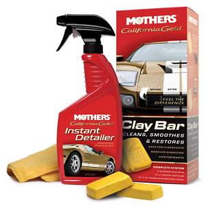Mothers 07240 6 California Gold Clay Bar System Pack Of 6