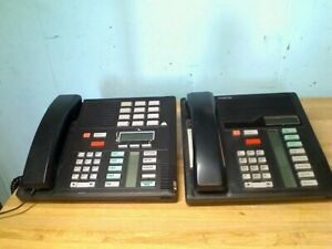 Lot Of 4 Northern Telecom Nortel Norstar Phone System M8x24 ds Nt8b30ab 03