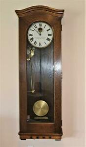 Antique Standard Electric Time Company Bierdermeier Style Master Clock