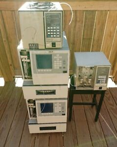 Waters Hplc 590 484 717plus Complete System Liquid Chromatography