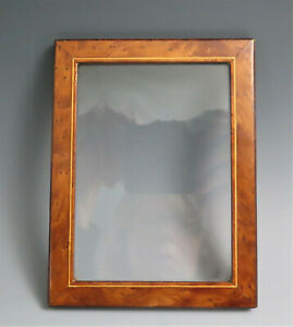 Vintage Austria Burl Wood Photo Frame
