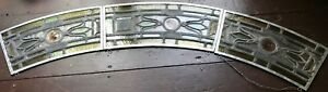 3 Piece Arched Stained Glass Window