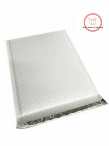 100 2 Poly Bubble Mailers 8 5x12 Padded Envelopes Self Sealing Bags recyclable