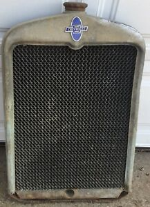 Chevolet Radiator And Emblem Grill 1920s 1930s Rat Rod Chevy Local Pickup