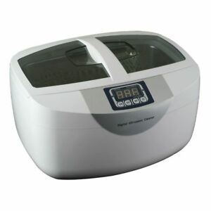 2 5l Ultrasonic Cleaner Cd 4820 Heatable For Dentist Dental Lab Jewerly