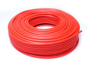 Hps 1 8 3mm Id Red High Temp Silicone Vacuum Hose 100 Feet Pack