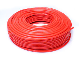 Hps 13 64 5mm Id Red High Temp Silicone Vacuum Hose 100 Feet Pack
