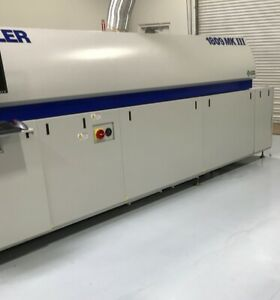 Heller Reflow Oven Model 1809mkiii Air With 10 Heating Zones