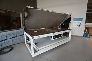 Silicon Vacuum Press Forming Thermoform Machine For Acrylic Plastic